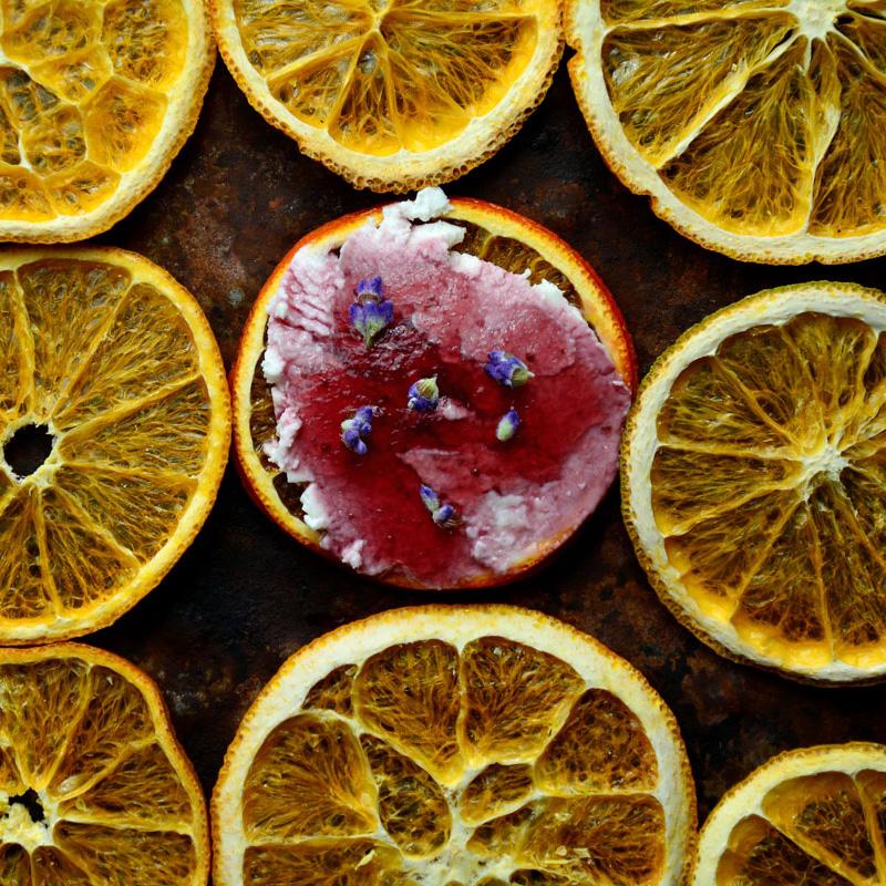Blood Orange Cracker